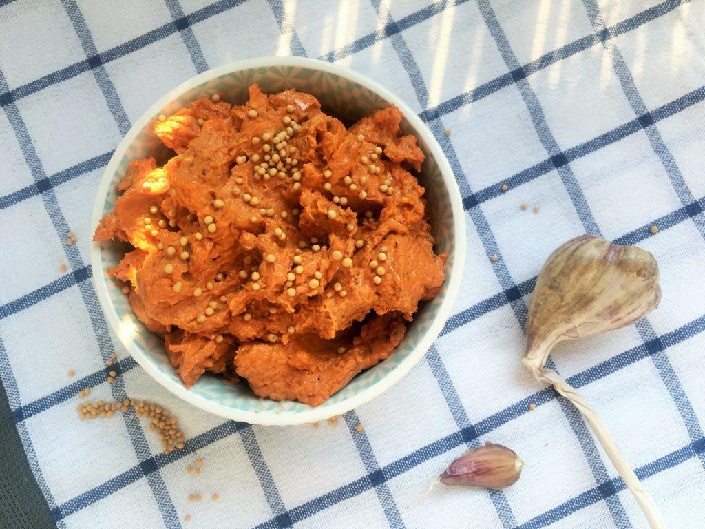 Pomidorowe pesto z serkiem topionym