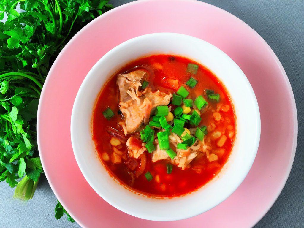 Serowa zupa meksykańska