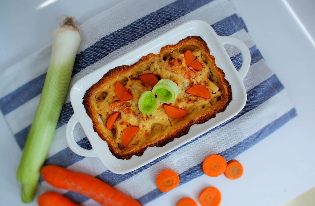 Zapiekane warzywa z serem