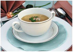 Zupa serowa z borowikami